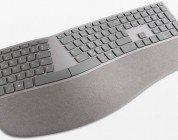 Surface: Ergonomische Tastatur
