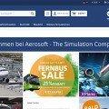 Aerosoft: Webseite