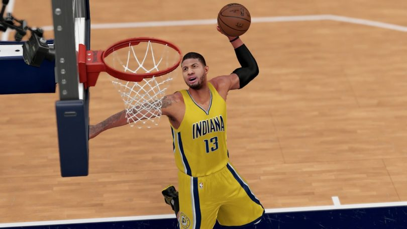 NBA 2K18: Screenshot