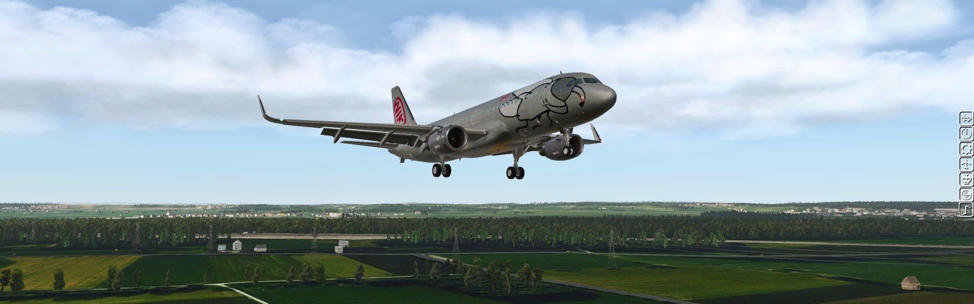 X-Plane 11 - JarDesign A320 - Test   PixelCritics
