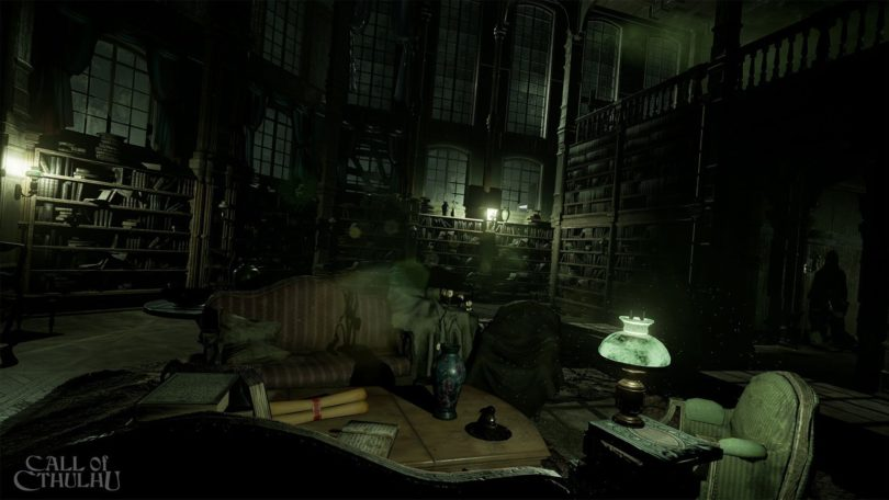 Call of Cthulhu: Screenshot