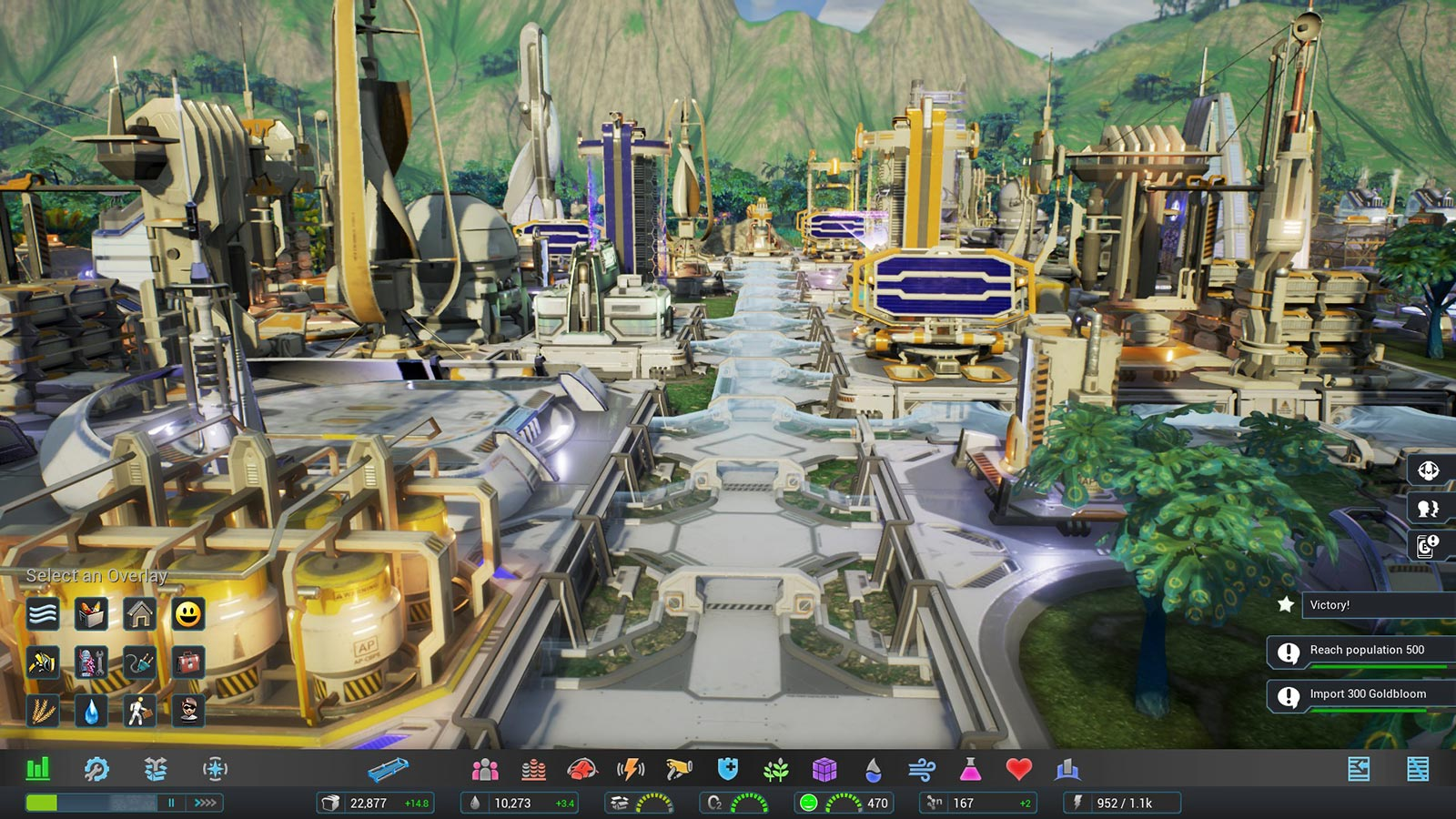 Aven Colony: Screenshot
