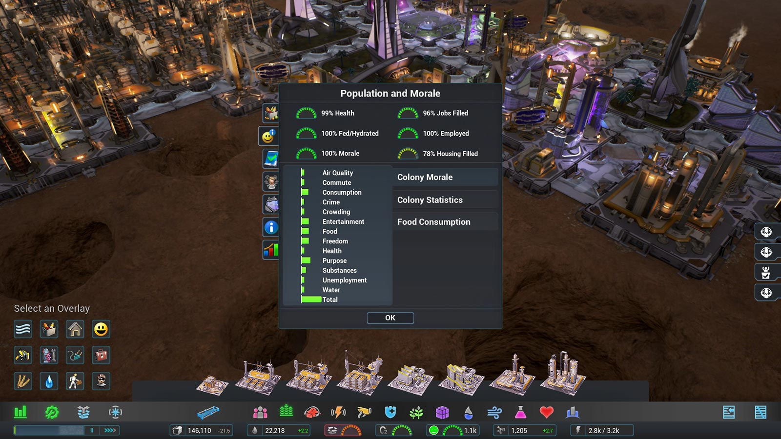 Aven Colony: Screenshot