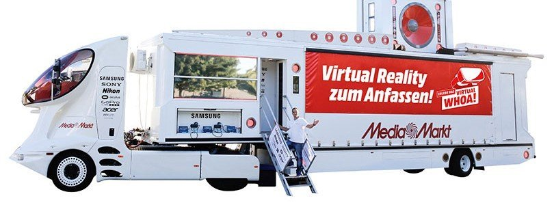 MediaMarkt: VR Truck