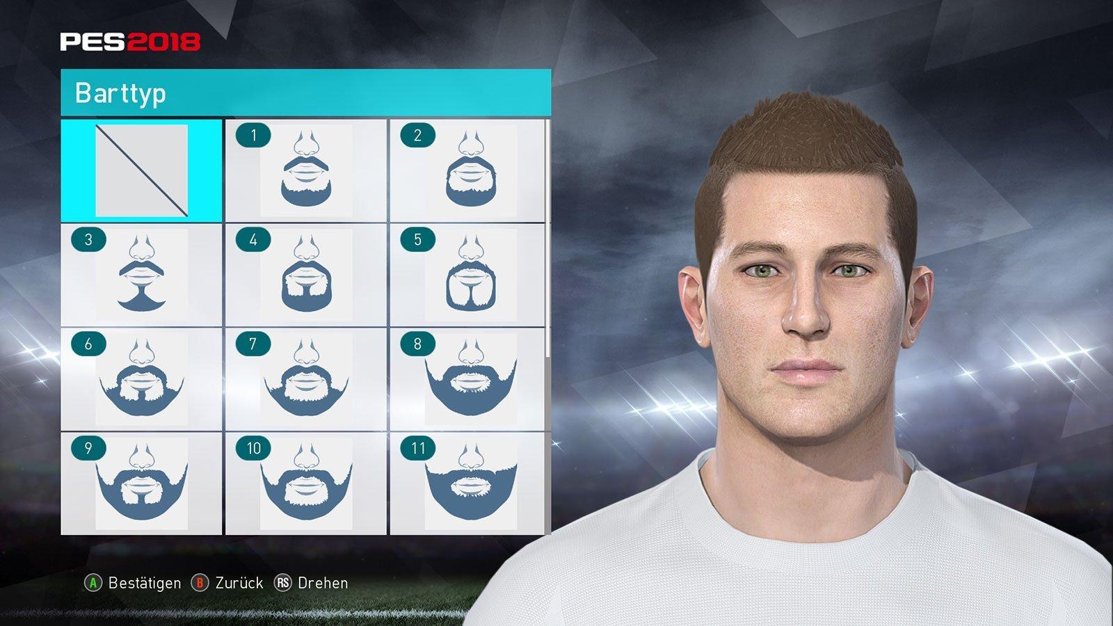 Pro Evolution Soccer 2018: Screenshot