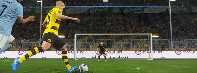 PES2018: Screenshot