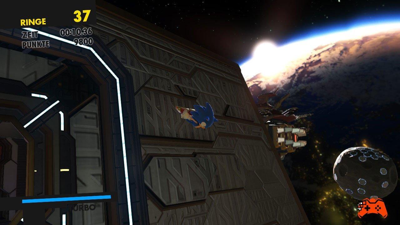 Sonic Forces: Screenshot