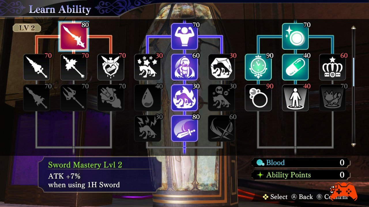 Nights of Azure 2: Bride of the New Moon - Screenshot