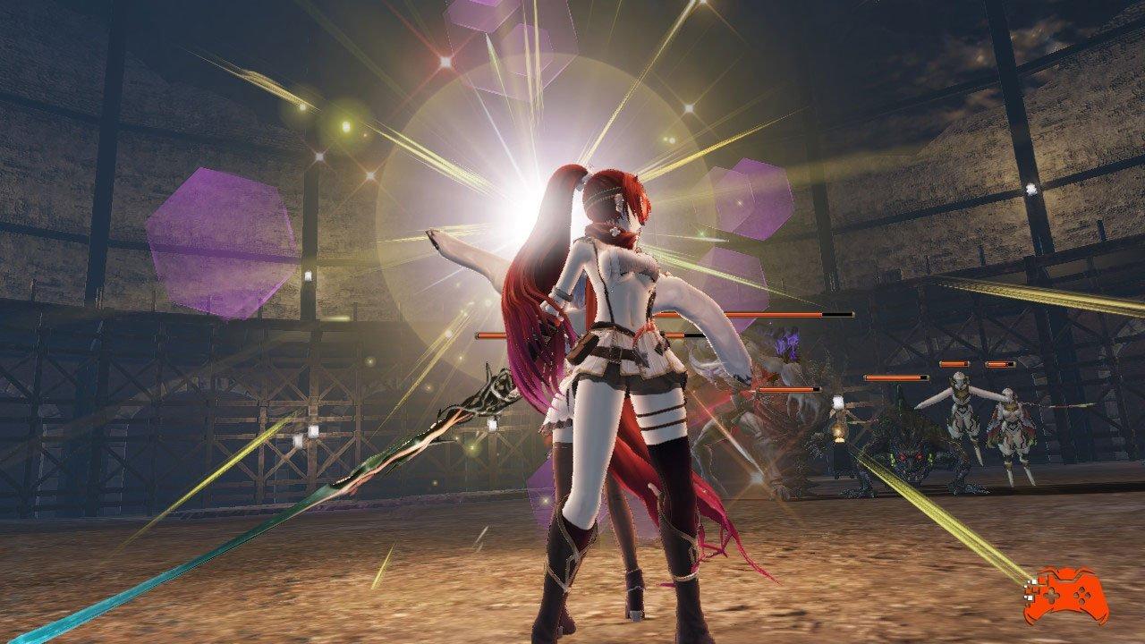 Nights of Azure 2: Bride of the New Moon - Screenshot