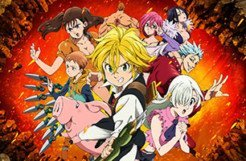 The Seven Deadly Sins: Knights of Britannia - Cover