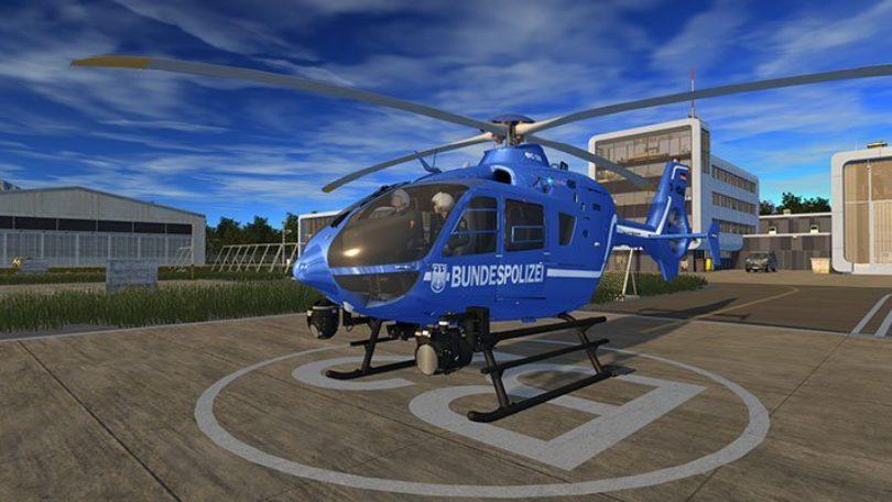 Polizeihubschrauber Simulator: Screenshot