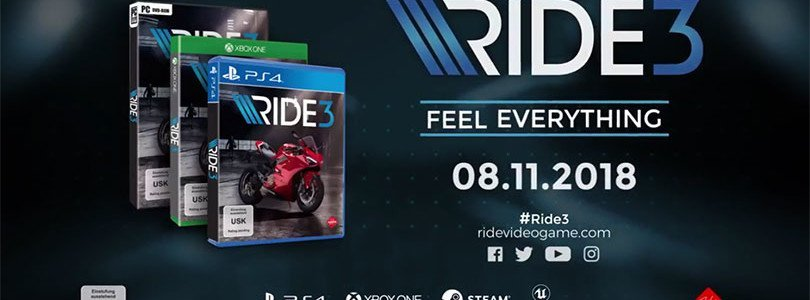 Ride 3: Packshot