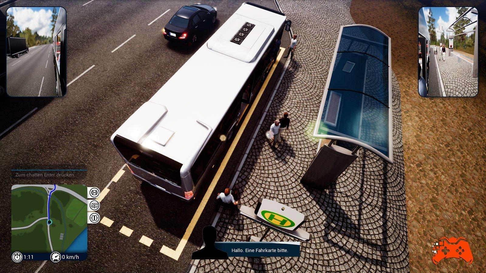 bus simulator 18 kommt f r xbox one und playstation 4. Black Bedroom Furniture Sets. Home Design Ideas