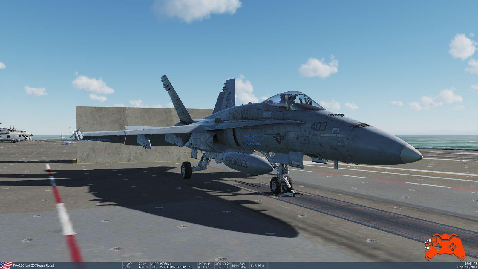 DCS World: F/A-18C - Screenshot