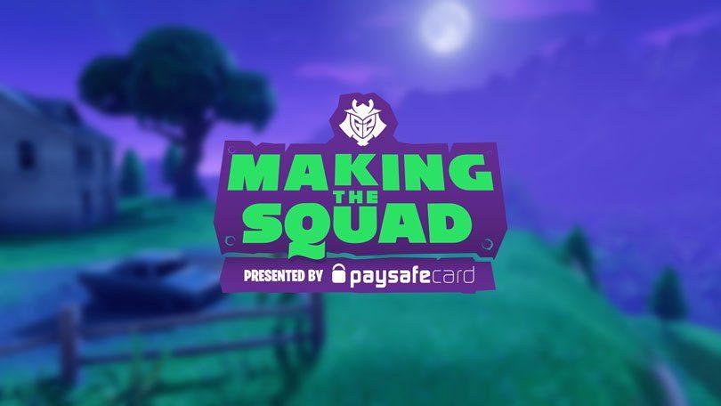Fortnite: MakingThe Squad Logo
