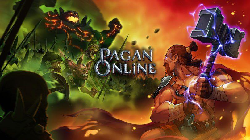 Pagan Online: KeyArt