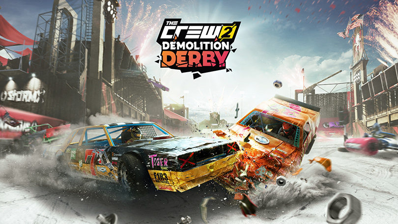 The Crew 2: Demolition Derby Keyart