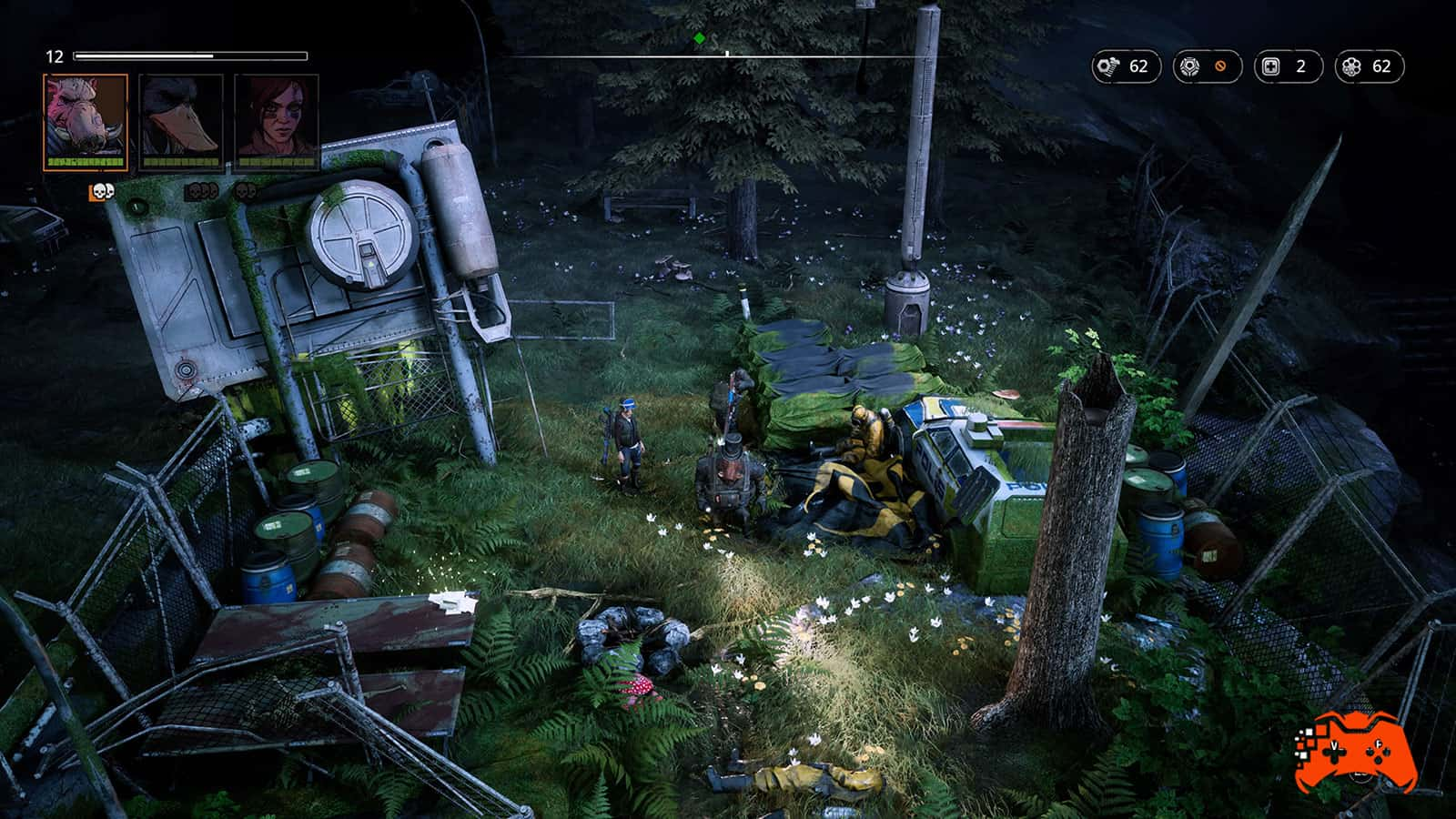 Mutant Year Zero: Road to Eden - Screenshot