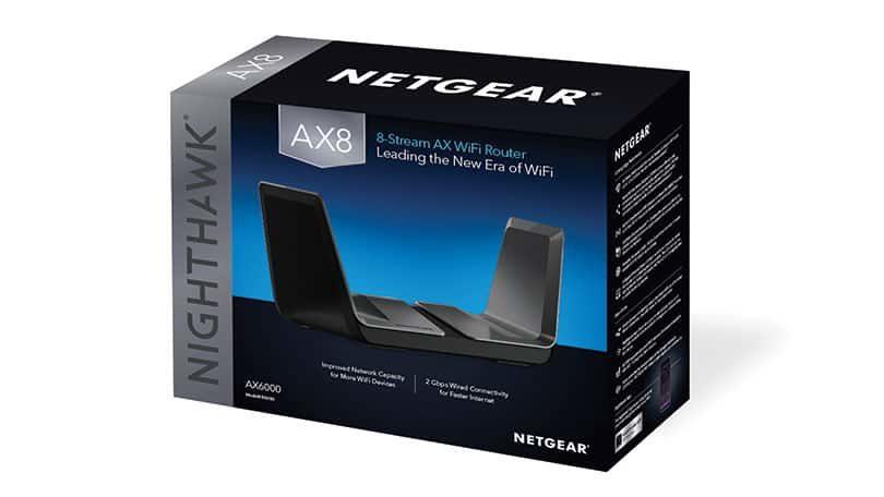 Netgear: leitet mit dem neuen Nighthawk AX8 WLAN-Router eine neue Ära