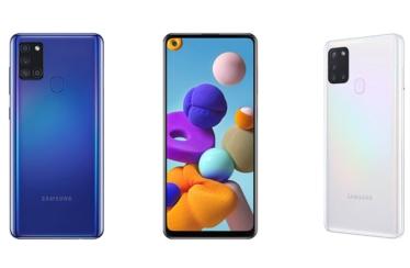 Das neue Galaxy A21s: Samsung erweitert Galaxy A-Serie