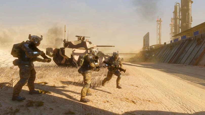 Armored Warfare: ab sofort mit Infanterie!