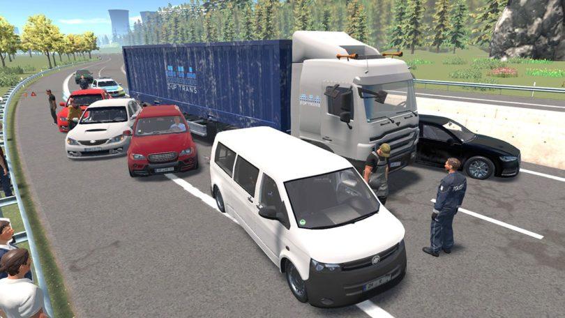 Autobahnpolizei Simulator 2: dominiert PS4-Charts in Deutschland