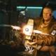 Cyberpunk 2077: Big Man With A Big Gun