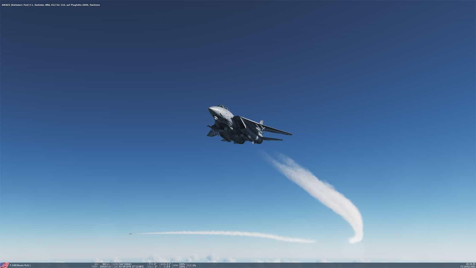 DCS World: F14 - Screenshot
