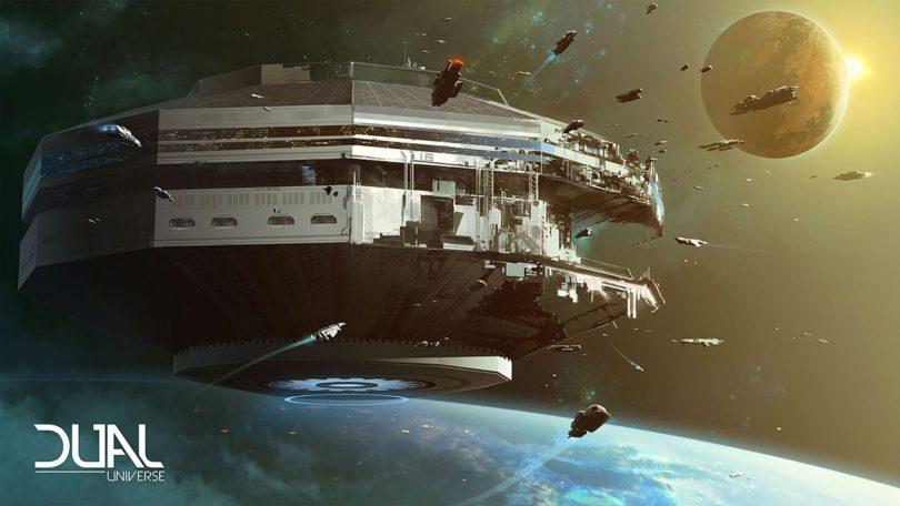 Dual Universe: Spieler werden zu Weltraumarchitekten