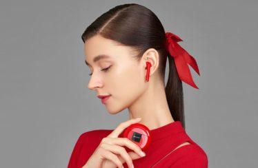 Die Huawei FreeBuds 3: Bald auch in leuchtendem Rot erhältlich