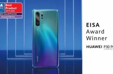 Huawei: EISA Award P30 Pro