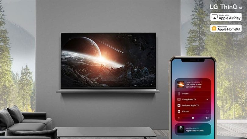 LG: AirPlay 2