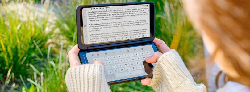 LG Electronics startet Verkauf des ersten Dual Screen-Smartphones am österreichischen Markt