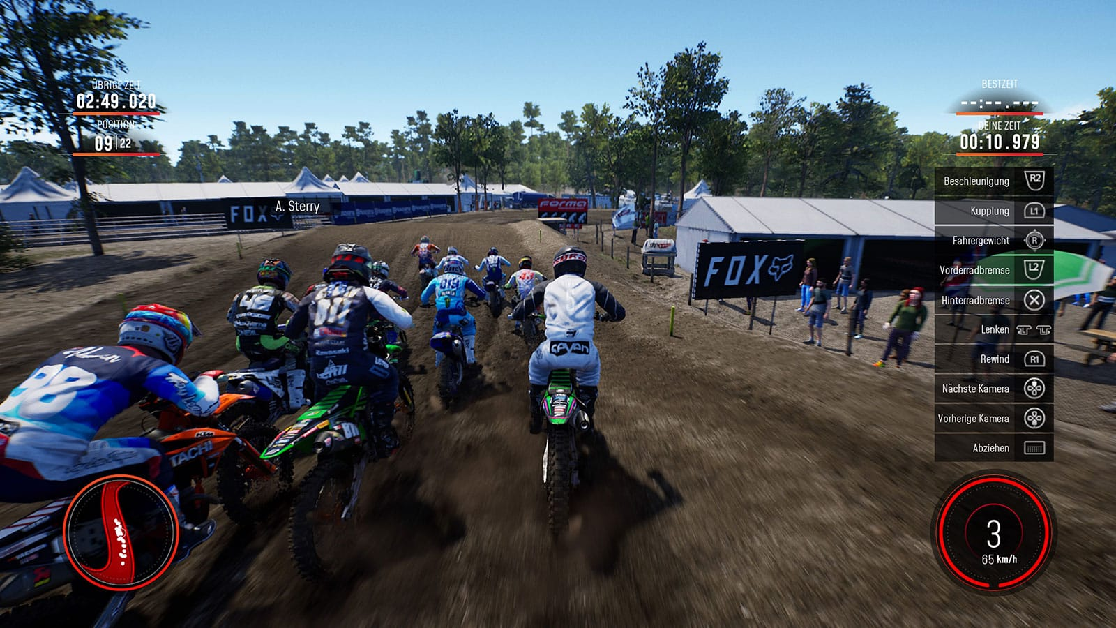 MXGP 2019: Screenshot