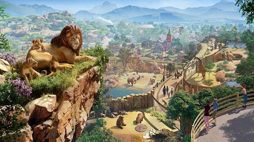 Planet Zoo: Key Art
