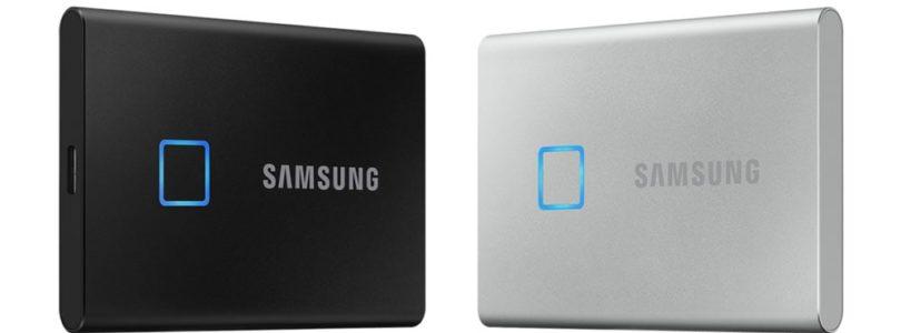 Portable SSD T7 Touch: Der neue Standard für Geschwindigkeit und Sicherheit externer Speichergeräte