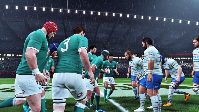 Rugby 20: Screenshot