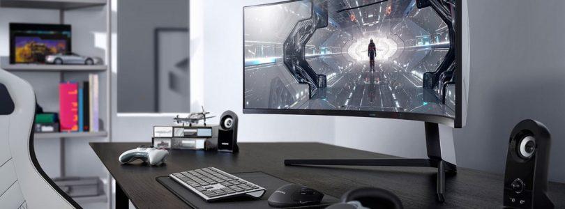 """Samsung stellt neue Gaming-Monitor-Serie """"Odyssey"""" in Las Vegas vor"""