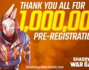 Shadowgun War Games: verzeichnet eine Million Voranmeldungen
