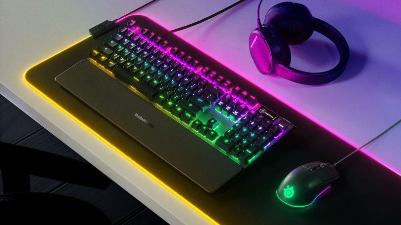 SteelSeries bringt die Rival 3 Gaming-Maus, sowie die Apex 3 und Apex 5 Gaming-Tastaturen auf den Markt
