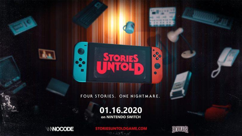 Stories Untold: das Puzzle-Abenteuer erscheint am 16. Januar für Nintendo Switch