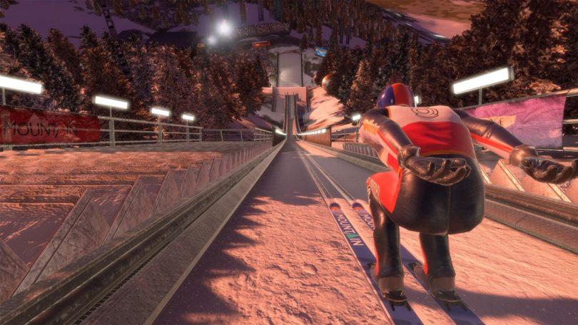 Ski Jumping Pro VR: für PlayStation 4 VR und Steam VR angekündigt