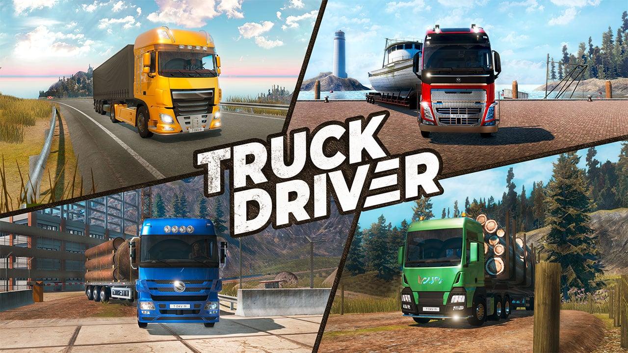 Truck Driver: KeyArt
