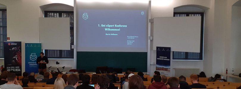 Die erste Uni eSport Konferenz der Uniliga feierte in Mannheim Premiere