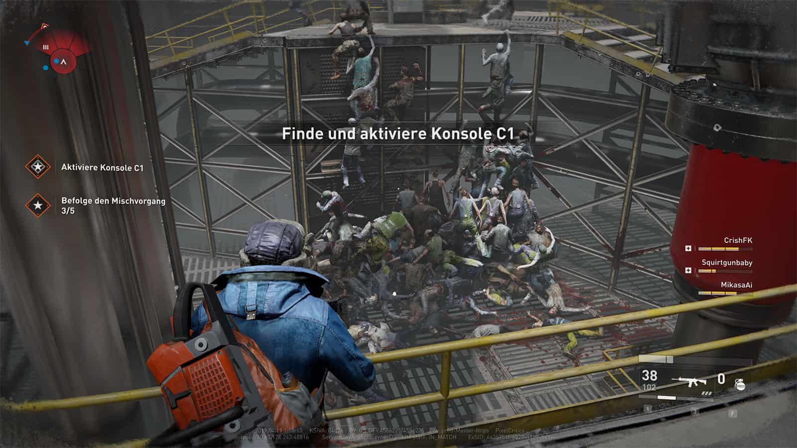 World War Z: Screenshot