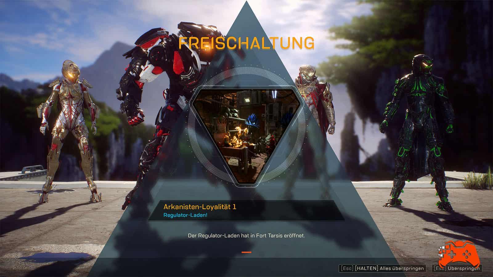 Anthem: Screenshot