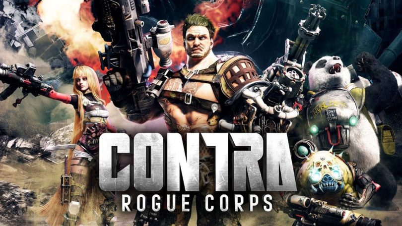 Contra: Rogue Corps - Keyart