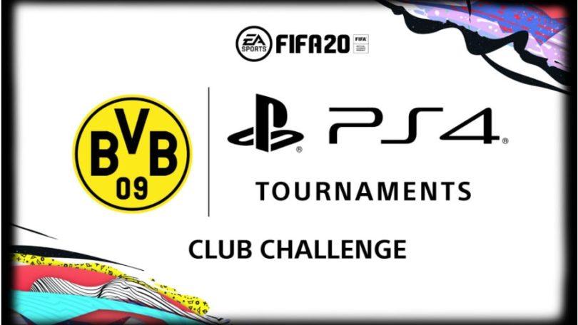 FIFA 20: Borussia Dortmund & PlayStation – Club Challenge Turnier
