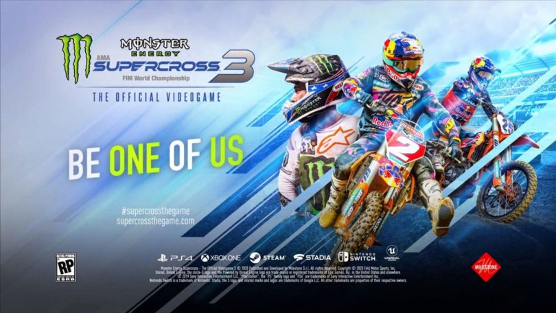 Monster Energy Supercross 3: KeyArt