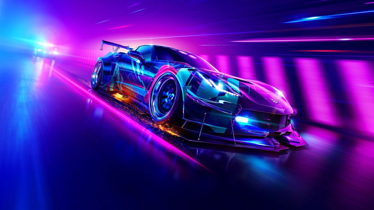 Need For Speed Heat: Keyart